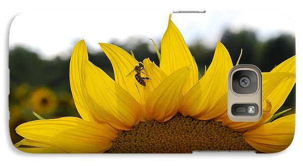 Galaxy Case featuring the photograph Busy Bee by Ankya Klay