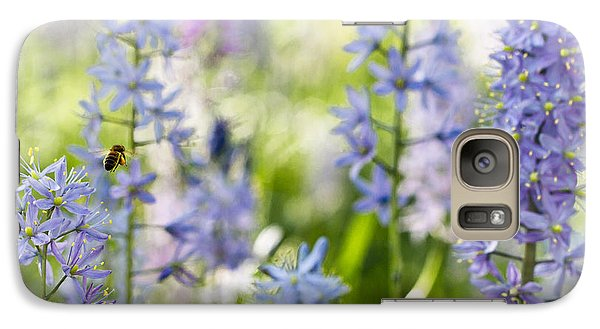 Galaxy Case featuring the photograph Busy Bee by Annette Hugen