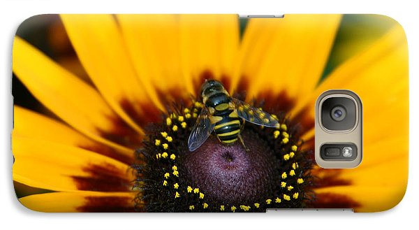 Galaxy Case featuring the photograph Busy Bee by Denyse Duhaime