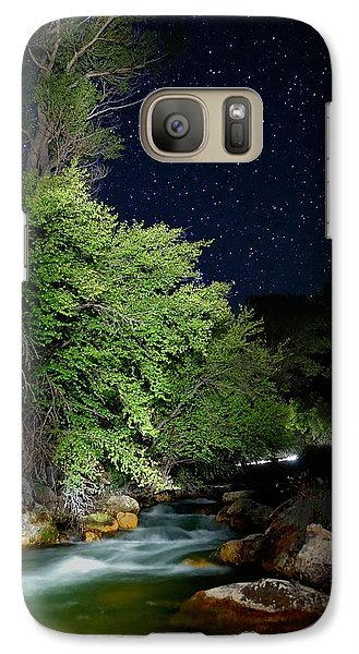 Galaxy Case featuring the photograph Busy Night by David Andersen
