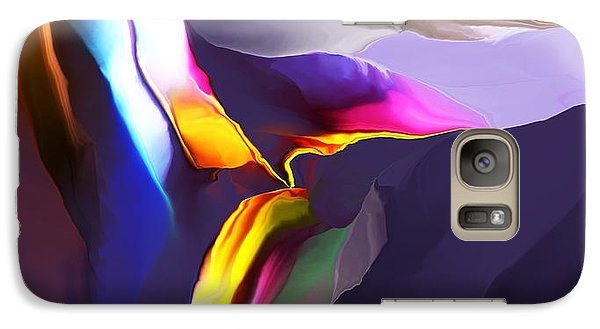 Galaxy Case featuring the digital art Butte by David Lane