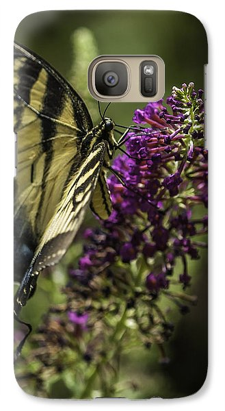 Butterflies Along The Blue Ridge Galaxy S7 Case