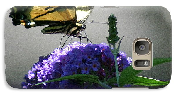 Galaxy Case featuring the photograph Butterflies Are Free by Debra Kaye McKrill