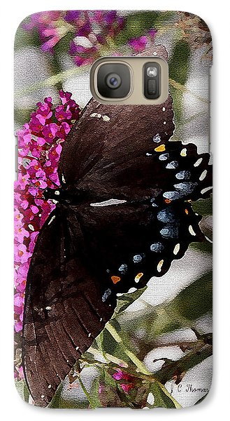 Galaxy Case featuring the photograph Butterflies Are Free by James C Thomas