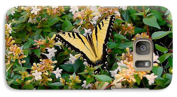 Galaxy Case featuring the photograph Butterflies Are Free by Roseann Errigo