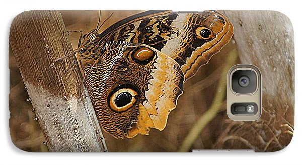 Galaxy Case featuring the photograph Butterfly 1 by Kathy Churchman
