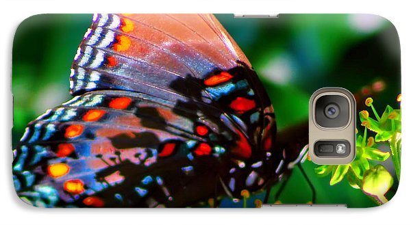 Galaxy Case featuring the photograph Butterfly 2 by Kara  Stewart