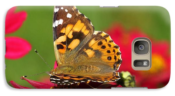 Galaxy Case featuring the photograph Butterfly 2 by Steven Clipperton
