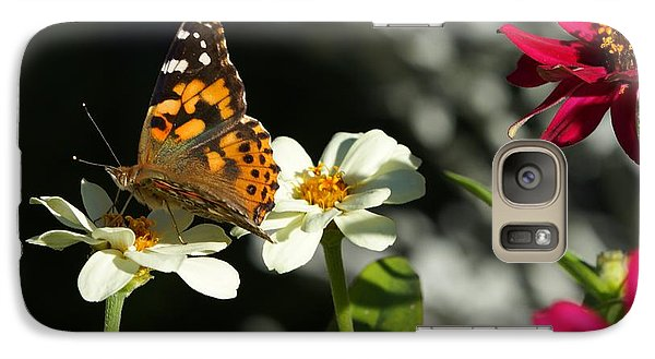 Galaxy Case featuring the photograph Butterfly 4 by Steven Clipperton