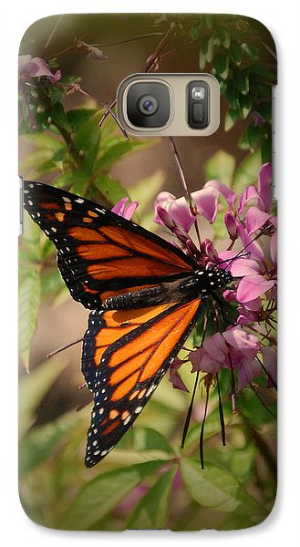 Galaxy Case featuring the photograph Butterfly 5 by Leticia Latocki