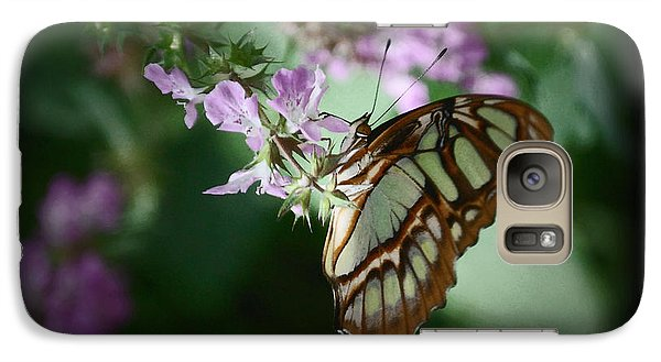 Galaxy Case featuring the photograph Butterfly 7 by Leticia Latocki