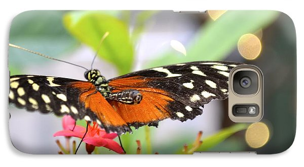 Galaxy Case featuring the photograph Butterfly Beauty by Carla Carson