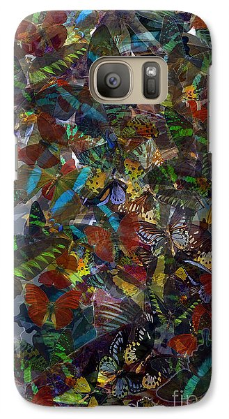 Galaxy Case featuring the photograph Butterfly Collage by Robert Meanor