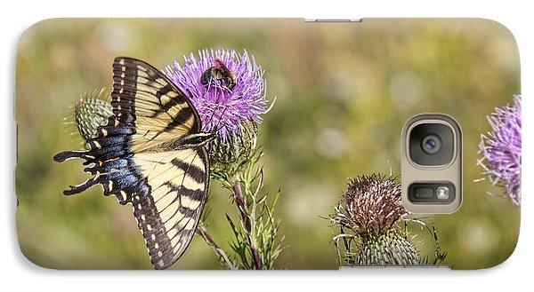 Galaxy Case featuring the photograph Butterfly by Daniel Sheldon