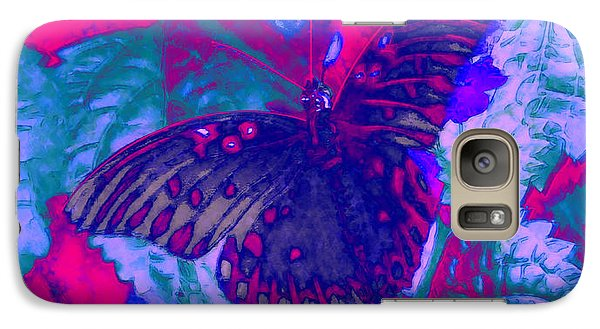 Galaxy Case featuring the painting Butterfly  by David Mckinney