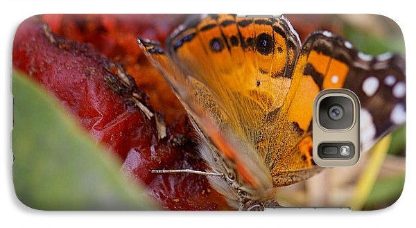 Galaxy Case featuring the photograph Butterfly by Erika Weber