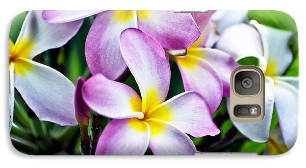 Galaxy Case featuring the photograph Butterfly Flowers by Thomas Woolworth