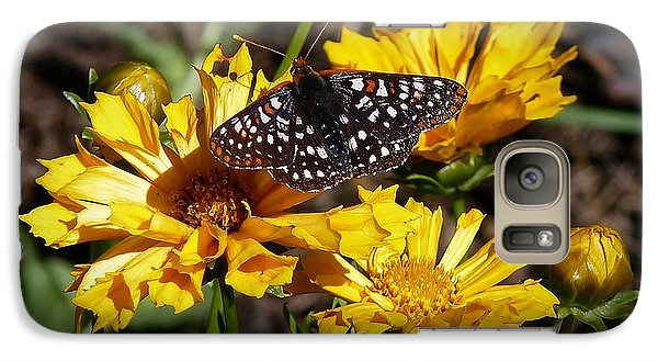 Galaxy Case featuring the photograph Butterfly Heaven by Julia Hassett