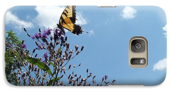 Galaxy Case featuring the photograph Butterfly In The Wild by Eric Switzer