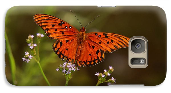 Galaxy Case featuring the photograph Butterfly by J Cheyenne Howell