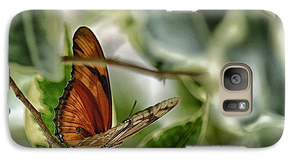 Galaxy Case featuring the photograph Butterfly by JRP Photography