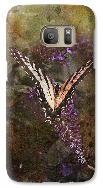 Galaxy Case featuring the photograph Butterfly by John Rivera