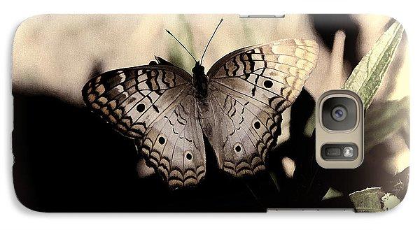 Galaxy Case featuring the photograph Butterfly Kisses by Oscar Alvarez Jr