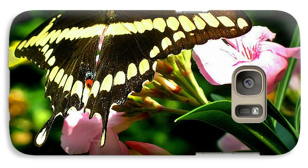 Galaxy Case featuring the photograph Butterfly by Kristine Merc