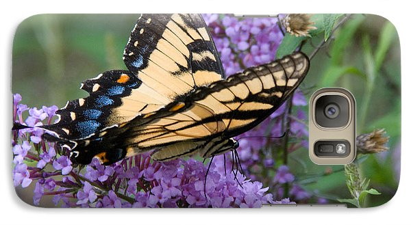 Galaxy Case featuring the photograph Butterfly Landing by Greg Graham