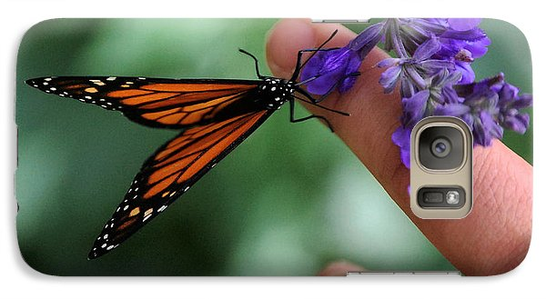 Galaxy Case featuring the photograph Butterfly by Leticia Latocki