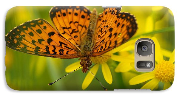 Galaxy Case featuring the photograph Butterfly by James Peterson