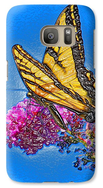 Galaxy Case featuring the photograph Butterfly by Patrick Witz