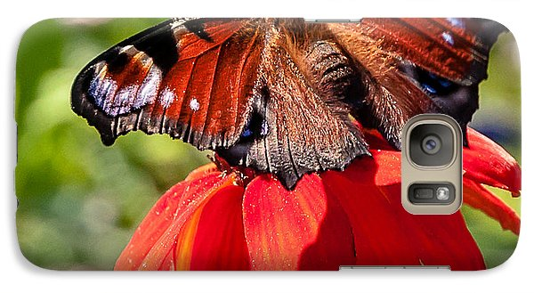 Galaxy Case featuring the photograph Butterfly by Sergey Simanovsky