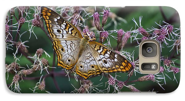 Galaxy Case featuring the photograph Butterfly Soft Landing by Thomas Woolworth