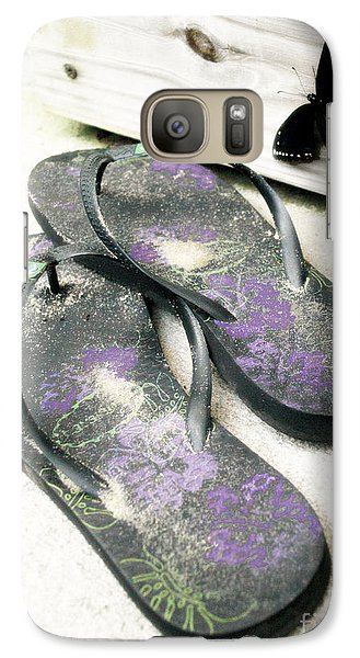 Galaxy Case featuring the photograph Butterfly Summer by Angela DeFrias