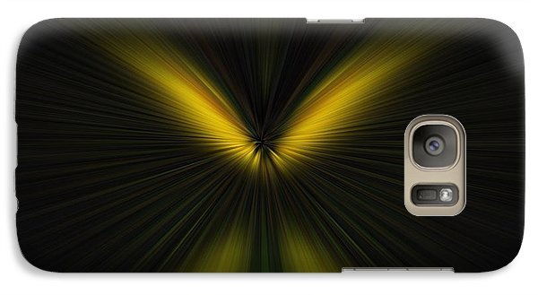 Galaxy Case featuring the digital art Butterfly by Trena Mara