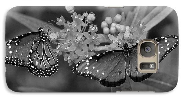 Galaxy Case featuring the photograph Butterflys by Joseph G Holland