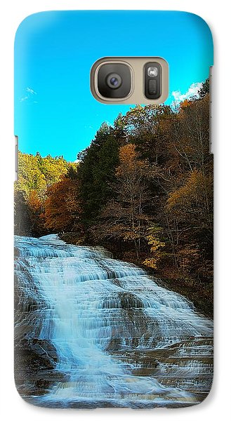 Galaxy Case featuring the photograph Buttermilk Falls Ithaca New York by Paul Ge