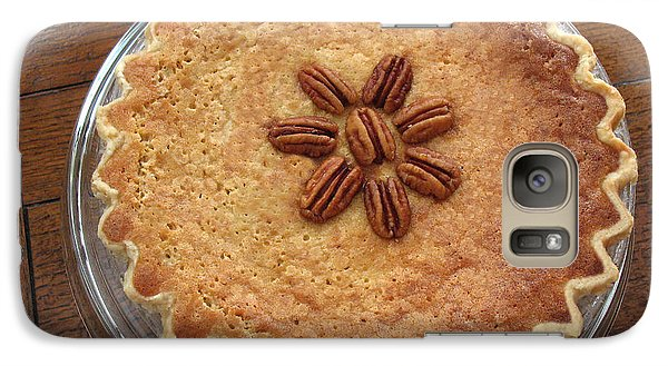 Galaxy Case featuring the photograph Buttermilk Pecan Pie by Connie Fox