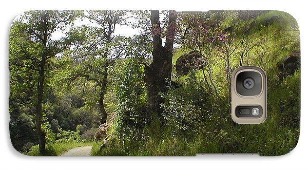 Galaxy Case featuring the photograph Buttermilk Trail South Yuba by Rachel Lowry