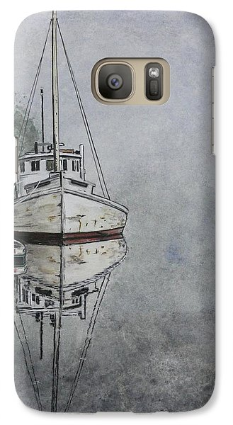 Galaxy Case featuring the painting Buy Boat by Stan Tenney