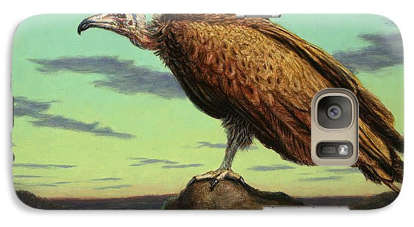 Buzzard Galaxy S7 Case - Buzzard Rock by James W Johnson