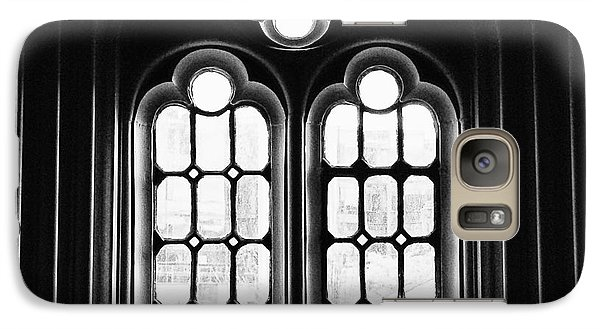 Galaxy Case featuring the photograph Church Window by JRP Photography