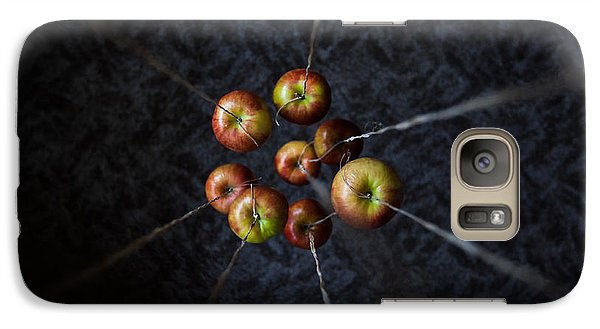 Galaxy Case featuring the photograph By A Thread by Aaron Aldrich