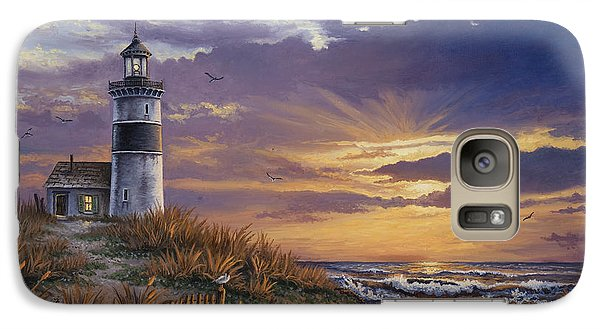 Galaxy Case featuring the painting By The Bay by Kyle Wood