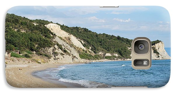 Galaxy Case featuring the photograph By The Beach by George Katechis