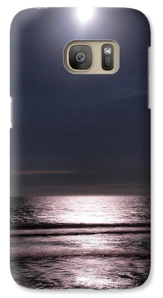 Galaxy Case featuring the photograph By The Light Of The Silvery Moon by Irma BACKELANT GALLERIES
