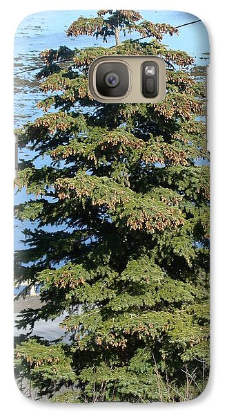 Galaxy Case featuring the photograph By The Ocean by Zinvolle Art