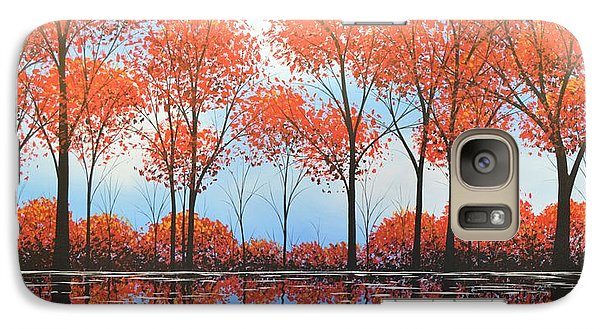 Galaxy Case featuring the painting By The Shore by Amy Giacomelli