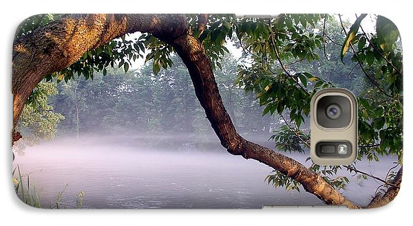Galaxy Case featuring the photograph By The Water's Edge by Mary Lou Chmura